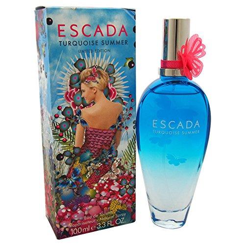 Escada Turquoise Summer Eau de Toilette mit Zerstäuber - Damen, 1er Pack (1 x 100 ml)