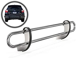 VANGUARD VGRBG-0833-1258SS For Subaru Outback 2014-2019 Rear Bumper Guard Stainless Steel Double Tube Style