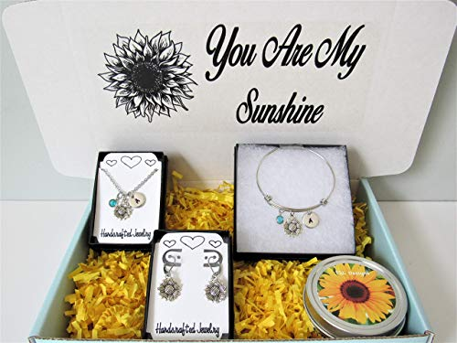 Sunflower Personalized Gift Box