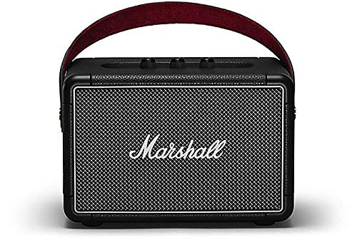 Marshall Kilburn II Portable Bluetooth Speaker, Black (Renewed)