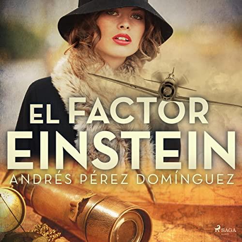 Diseño de la portada del título El factor Einstein
