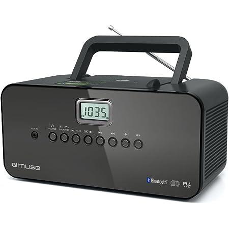 Muse M 22 Bt Tragbares Ukw Mw Radio Mit Cd Spieler Bluetooth Audio Hifi