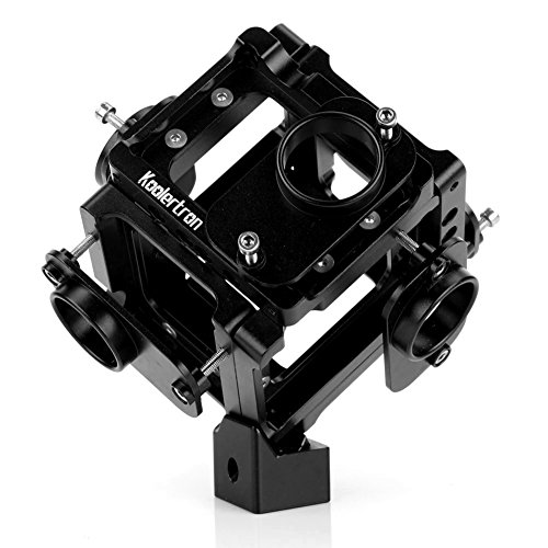 Koolertron Supporto professionale 360 ° panorama per GoPro Hero 3 3 + 4