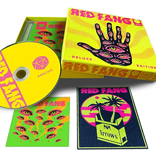Red Fang: Arrows - including exclusive patch and sticker (Audio CD)