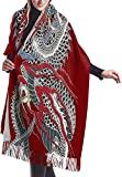 Shawl Wrap Blanket Scarf Yakuza Dragon Tattoo Cashmere Scarf Super Soft Shawls And Wraps Warm For Men And Women