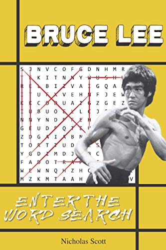 Price comparison product image Bruce Lee: Enter the Word Search: A Bruce Lee Activity Book