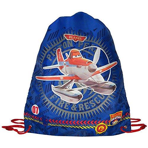 Disney Sac de Sport pour Enfants Planes | Sac de Sport | 42x36 cm