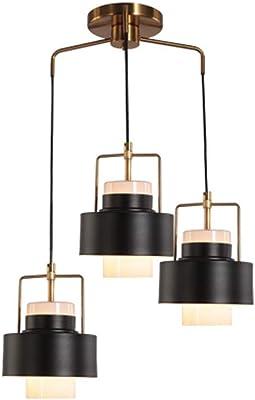 RUXMY Wine bottle chandelier, LED modern minimalist multi