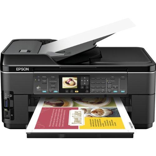 epson 3d printers Epson WorkForce WF-7510 Wireless All-in-One Wide-Format Color Inkjet Printer, Copier, Scanner, Fax (C11CA96201)