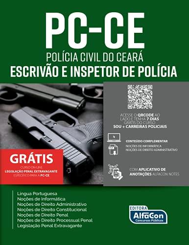 Escrivão e Inspetor de Polícia Civil do Estado do Ceará - PC CE