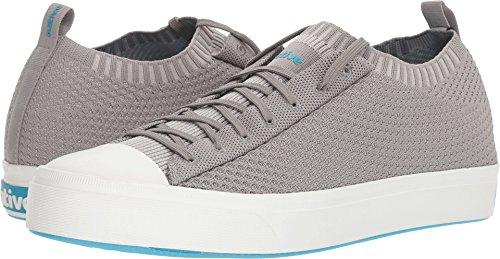 Native Shoes Jefferson 2.0 Liteknit Pigeon Grey/Shell White Men's 3, Women's 5