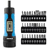 "NEIKO 10574A 1/4"" Drive Torque Wrench Screwdriver Set 