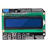 Kuman 1602 Módulo de protección de pantalla LCD para Arduino Mega2560 R3 Kit KY54