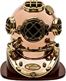 iST Mark V United States Navy Diving Helmet Brass Replica