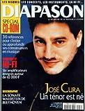 DIAPASON [No 456] du 01/02/1999 - COMPARATIF HI-FI - SIX AMPLIFICATEURS INTEGRES AUTOUR DE 10 000 F - DISCOGRAPHIE - LA SONATE WALDSTEIN DE BEETHOVEN - JOSE CURA - UN TENOR EST NE.