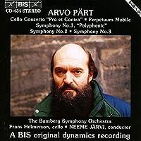 アルヴォ・ペルト:チェロ協奏曲「賛と否」、交響曲第1〜3番 (Part: Cello Concerto, Symphonies No.1-3)