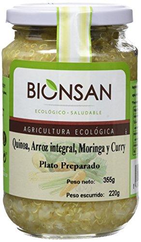 Bionsan Quínoa con Arroz Integral y Moringa Ecológica- 6 Botes de 220 gr - Total: 1320 gr