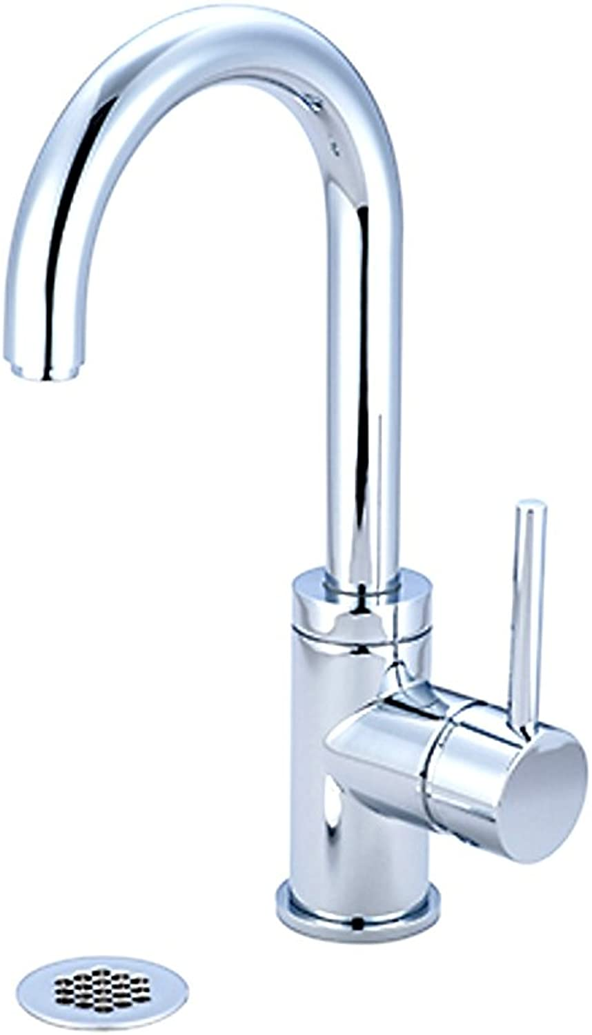 Pioneer 3Mt181G-Bn Single Handle Lavatory Faucet, Pvd Brushed Nickel Finish