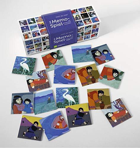 Das Memo-Spiel zur Neukirchener Kinderbibel: Schachtel mit Spieleanleitung