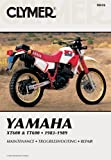 YAMAHA XT600 & TT60 83-89: Clymer Workshop Manual (Clymer Manuals: Motorcycle Repair)