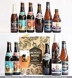 Pack bire Dcouverte BELGIQUE - 6 bires belges + 1 guide de dgustation - Spcial Cadeau Fte des Pres - Mix de 6 bouteilles 25cl & 33cl - Moyenne ratebeer +80/100 - Une Petite Mousse