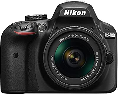 Nikon D3400 w/ AF-P DX NIKKOR 18-55mm f/3.5-5.6G VR (Black) by Nikon
