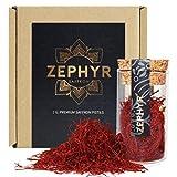 Zephyr Safran, 2 grammes safran en pistils, qualité supérieure
