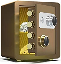 LLRYN Security Safe Box Keypad Lock Home Office Hotel Business Jewelry Cash Use Money (Color : C)