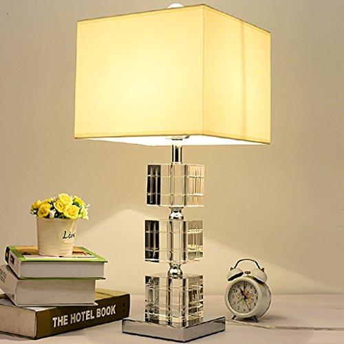 Bonne chose lampe de table Lampe de bureau Lampe de table en cristal Lampe de chevet Lampe à la chambre Lampe de table moderne de luxe Robe de mariée