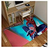 WallDiy Spiderman Rug Cartoon Winnie Pooh Children Boys Room Carpet Nordic Bedroom Living Room Blanket Kids Game Mat