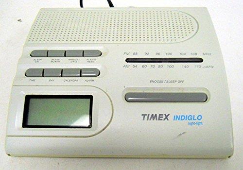 Timex T422B AM/FM Alarm Clock w/ Indiglo Night Light