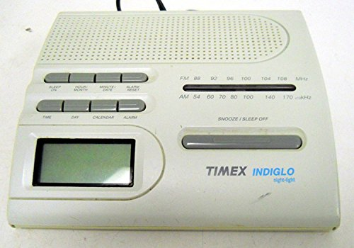 Timex T422B AM/FM Alarm Clock w/ Indiglo Night Light