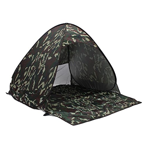 Sandis Outdoor 2-3 Person Automatic Waterproof Camouflage Camping Hiking Family Tent