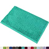MAYSHINE Non-Slip Bathroom Rug Shag Shower Mat Machine-Washable Bath Mats with Water Absorbent…