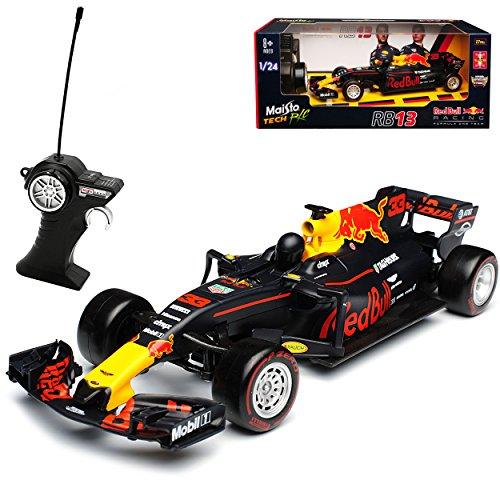 RC Auto kaufen Rennwagen Bild: Maisto Red Bull RB13 Max Verstappen Nr 33 Formel 1 2017 27 MHz RC Funkauto 1/24 Modell Auto*