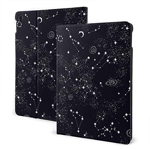 Estuche Personalizado para iPad Space Zodiac Star Soporte de múltiples ángulos Magnético Auto Sleep Wake up Tablets Estuche Protector para iPad 7th 10.2 Inch
