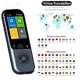 TTLIFE 138 Idiomas Traductor Idioma Traductor de voz en tiempo real WiFi/Hotspot/Traductor de fotos ...