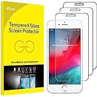 JETech Protector de Pantalla para iPhone 8 Plus, iPhone 7 Plus, iPhone 6s Plus y iPhone 6 Plus, Vidrio Templado, 3 Unidades