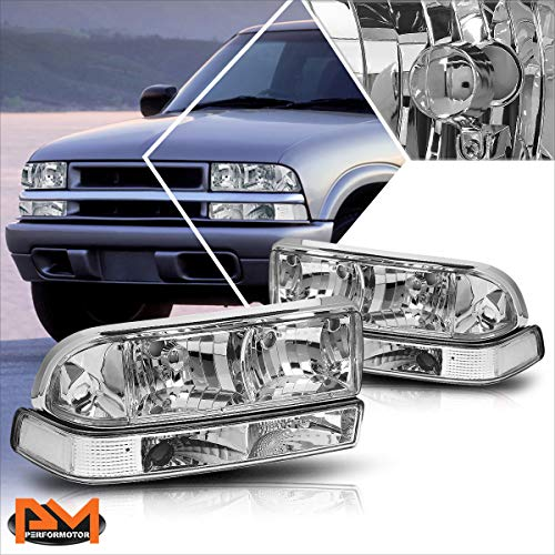 02 chevy s10 headlight assembly - 5