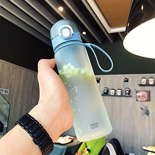 DUOER Bouteille d'eau de 500 ML en Plastique Drinkware Visite extérieure du Sport Scolaire étanche Joint Gourde Escalade Bouteilles d'eau en Plastique Shaker Tasses