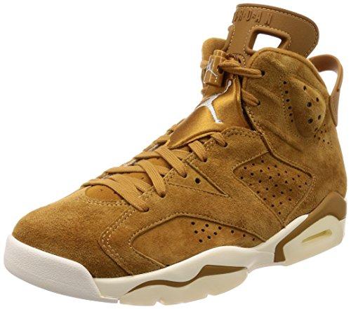 Nike Air Jordan 6 Retro, Scarpe da Ginnastica Uomo, Beige (Golden Harvestgolden Harvestsail), 47 EU