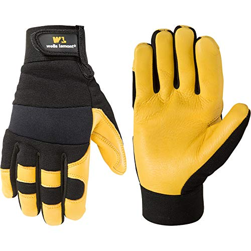 Wells Lamont Hi-Dexterity Leather Work Gloves