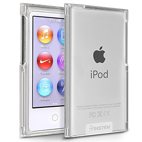 Generic Clear Crystal Transparent Hard Snap-On Skin Case Cover for New Apple iPod Nano 7th Generation 7G 7
