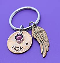 Memorial Jewelry - Pennies From Heaven Keychain - keepsake - Penny keychain - Hand stamped - Memorial Jewelry