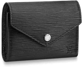Victorine Wallet Epi Leather M62173 Noir