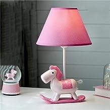 Desk Lamps Children's Room Cartoon LED Pony Table lamp Bedroom Bedside lamp Creative boy Girl Cute Decorative Table lamp (...