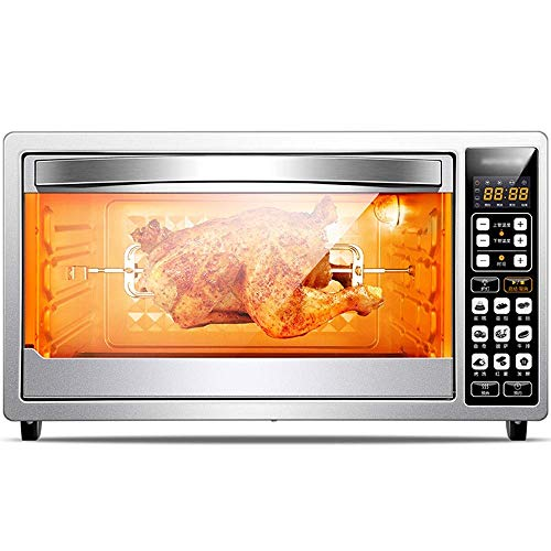 LQRYJDZ Oven, Electric Mini Oven - Intelligent Fully Automatic 38L Large Capacity Household LCD Display Oven, 2 Styles Available Toaster Oven (Color : B),Colour:A (Color : B)