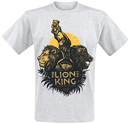 Der König der Löwen Circle of Life T-Shirt grau meliert S