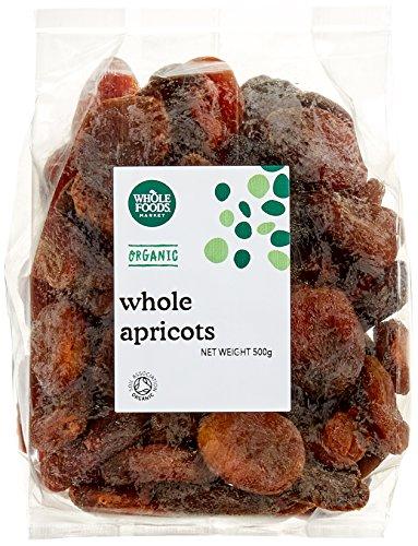 Whole Foods Market Organic Apricots 2 x 500g