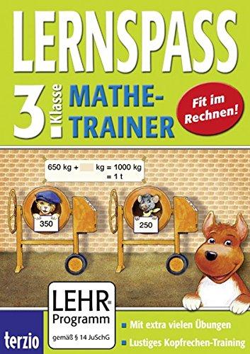 LERNSPASS - Mathe-Trainer 3. Klasse (PC+MAC) [import allemand]